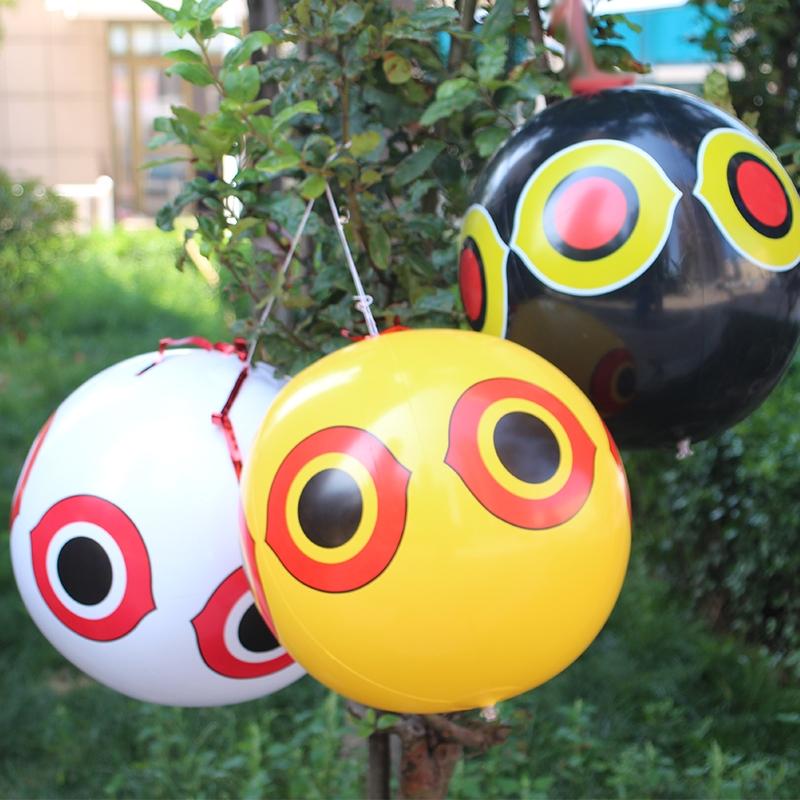 恐怖眼驱鸟气球