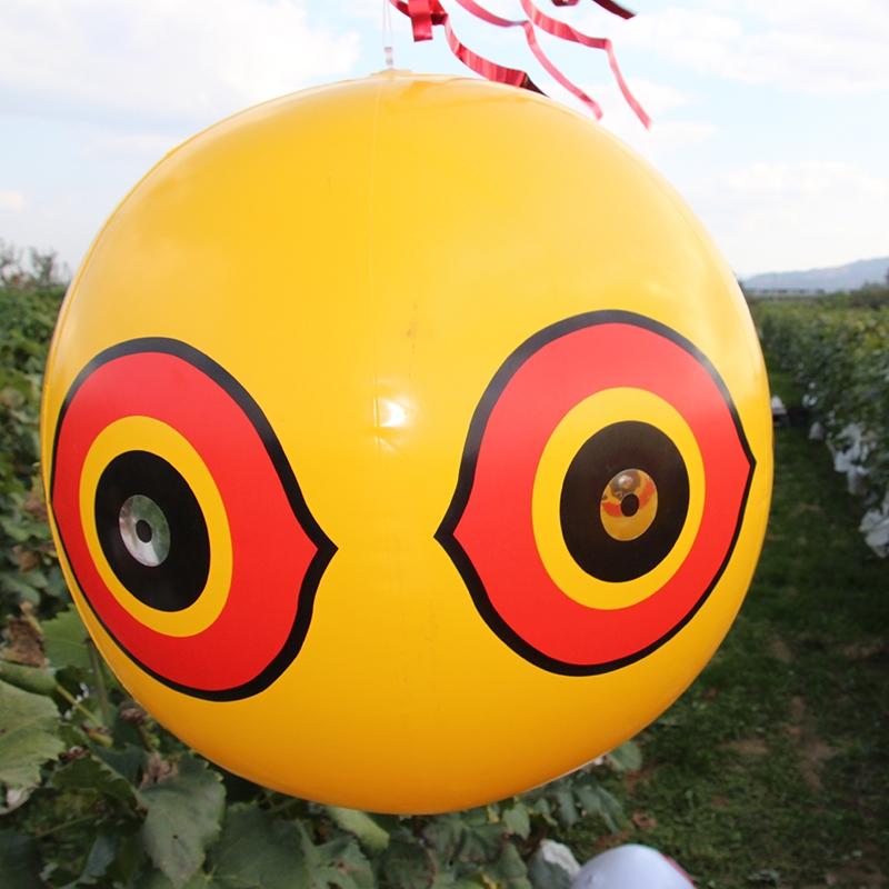 驱鸟恐怖眼睛气球,驱鸟气球充气,吓鸟气球